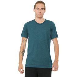 Kleidung Herren T-Shirts Bella + Canvas CA3413 Blaugrün Triblend