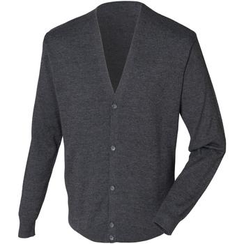 Kleidung Herren Strickjacken Henbury HB722 Grau