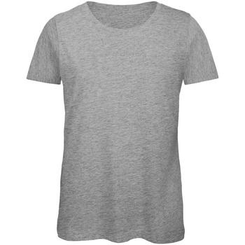Kleidung Damen T-Shirts B And C TW043 Grau meliert