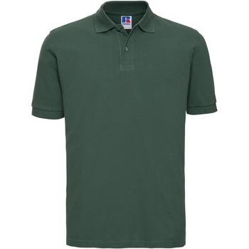 Kleidung Herren Polohemden Russell 569M Flaschengrün