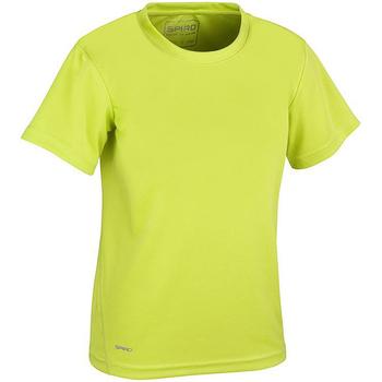 Kleidung Jungen T-Shirts Spiro S253J Limettengrün