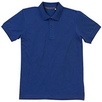 Kleidung Herren Polohemden Stedman Stars Henry Waschechtes Blau