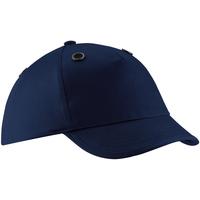Accessoires Schirmmütze Beechfield B525 Marineblau