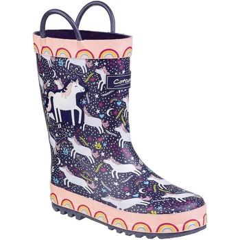 Schuhe Kinder Gummistiefel Cotswold Sprinkle Violett Einhorn