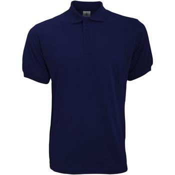Kleidung Herren Polohemden B And C PU409 Marineblau