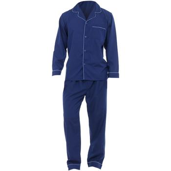 Kleidung Herren Pyjamas/ Nachthemden Universal Textiles  Marineblau