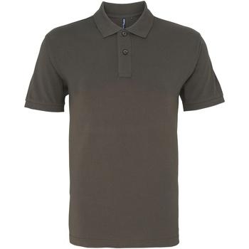 Kleidung Herren Polohemden Asquith & Fox AQ010 Schiefergrau