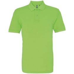 Kleidung Herren Polohemden Asquith & Fox AQ010 Neongrün