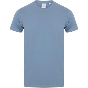 Kleidung Herren T-Shirts Skinni Fit SF121 Stein Blau