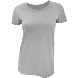 Kleidung Damen T-Shirts Bella + Canvas BE8413 Grau Triblend