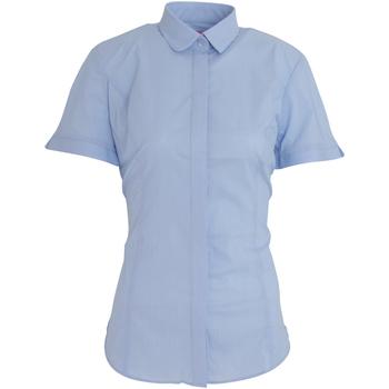 Kleidung Damen Hemden Brook Taverner BK133 Himmelblau