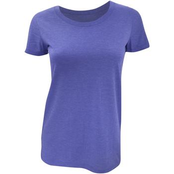 Kleidung Damen T-Shirts Bella + Canvas BE8413 Blau Triblend