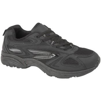 Schuhe Herren Sneaker Low Dek Venus Schwarz/Anthrazit
