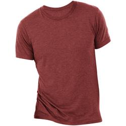 Kleidung Herren T-Shirts Bella + Canvas CA3413 Kardinalrot Triblend