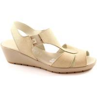 Schuhe Damen Sandalen / Sandaletten Cinzia Soft 8143 beige Schuhe Sandalen Frau Gehkomfort Beige
