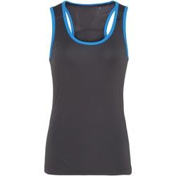 Kleidung Damen Tops Tridri TR023 Anthrazit/Saphir