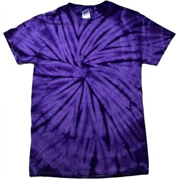 Kleidung T-Shirts Colortone Tonal Spider Violett