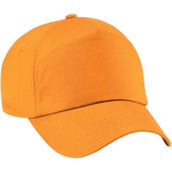 Accessoires Mädchen Schirmmütze Beechfield B10B Orange