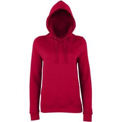 Kleidung Damen Sweatshirts Awdis Girlie Red Hot Chilli