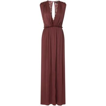 Kleidung Damen Maxikleider Little Mistress Sateen Rot