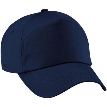 Accessoires Schirmmütze Beechfield B10 Marineblau