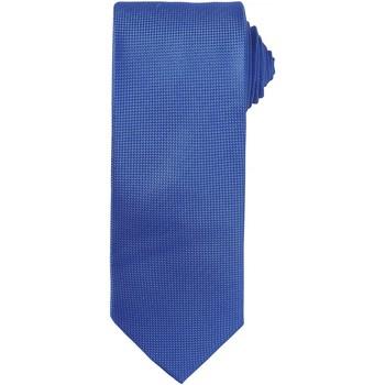 Kleidung Herren Krawatte und Accessoires Premier Waffle Königsblau