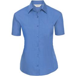 Kleidung Damen Hemden Russell 935F Blau