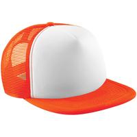 Accessoires Schirmmütze Beechfield B645 Orange/Weiß
