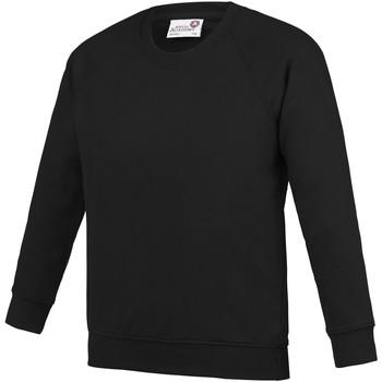 Kleidung Kinder Sweatshirts Awdis  Schwarz
