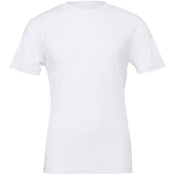 Kleidung T-Shirts Bella + Canvas CV001 Weiß
