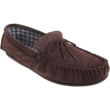 Schuhe Herren Hausschuhe Mokkers  Dunkelbraun