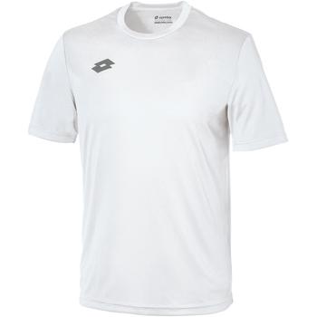 Kleidung Kinder T-Shirts Lotto LT26B Weiß/Zinn