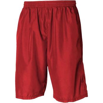 Kleidung Herren Shorts / Bermudas Tombo Teamsport Longline Rot/Rot