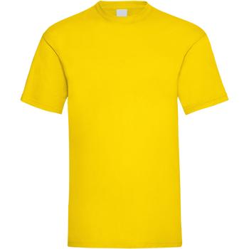 Kleidung Herren T-Shirts Universal Textiles 61036 Hellgelb