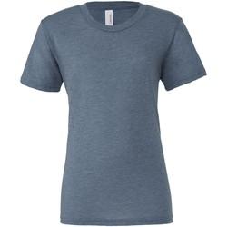 Kleidung Herren T-Shirts Bella + Canvas CA3413 Denim Triblend