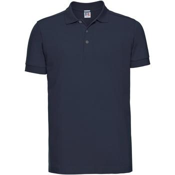 Kleidung Herren Polohemden Russell 566M Marineblau