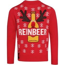 Kleidung Herren Pullover Christmas Shop CJ003 Rot