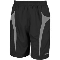 Kleidung Herren Shorts / Bermudas Spiro S184X Schwarz/Grau