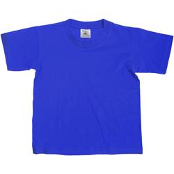 Kleidung Kinder T-Shirts B And C TK300 Königsblau