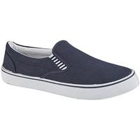 Schuhe Jungen Slip on Dek  Marineblau