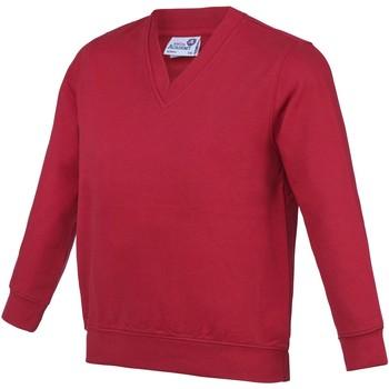 Kleidung Kinder Sweatshirts Awdis  Rot