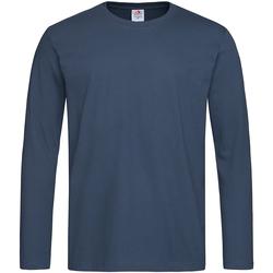 Kleidung Herren Langarmshirts Stedman  Marineblau