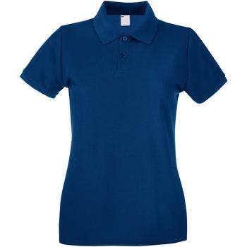 Kleidung Damen Polohemden Universal Textiles 63030 Marineblau