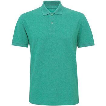 Kleidung Herren Polohemden Asquith & Fox Twisted Grün Melange