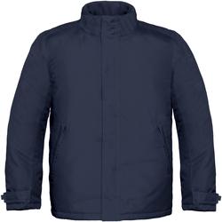 Kleidung Herren Jacken B And C Real+ Marineblau