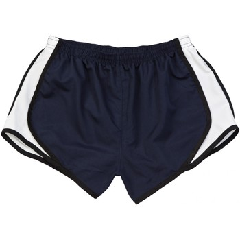 Kleidung Damen Shorts / Bermudas Boxercraft Velocity Marineblau/Schwarz-Weiß