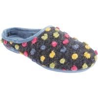 Schuhe Damen Hausschuhe Sleepers  Blau/Bunt