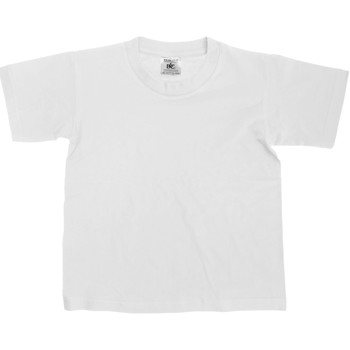 Kleidung Kinder T-Shirts B And C TK300 Weiß