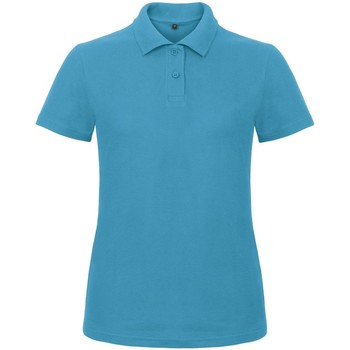 Kleidung Damen Polohemden B And C ID.001 Atoll