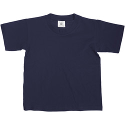 Kleidung Kinder T-Shirts B And C Exact Dunkelblau